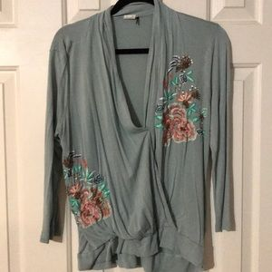 Tops - Embroidered cardigan. Purchased from Anthropologie